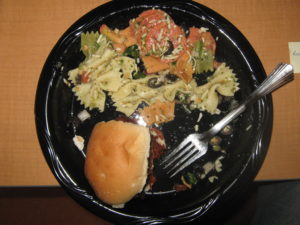 Food Services plate