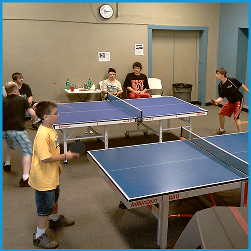 Table Tennis Valley Youth Center Duluth